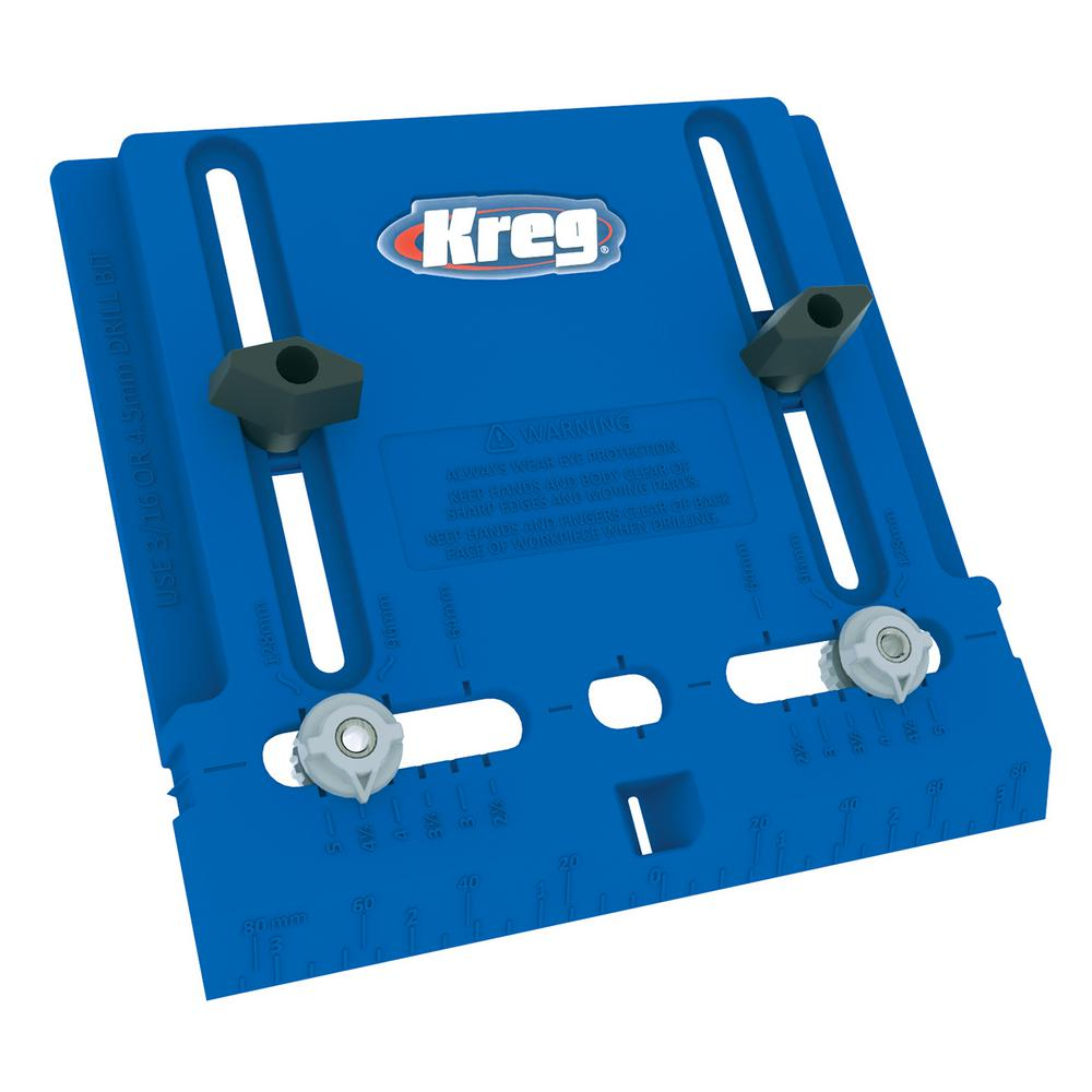 Kreg Cabinet Hardware Jig-KHI-PULL - The Home Depot