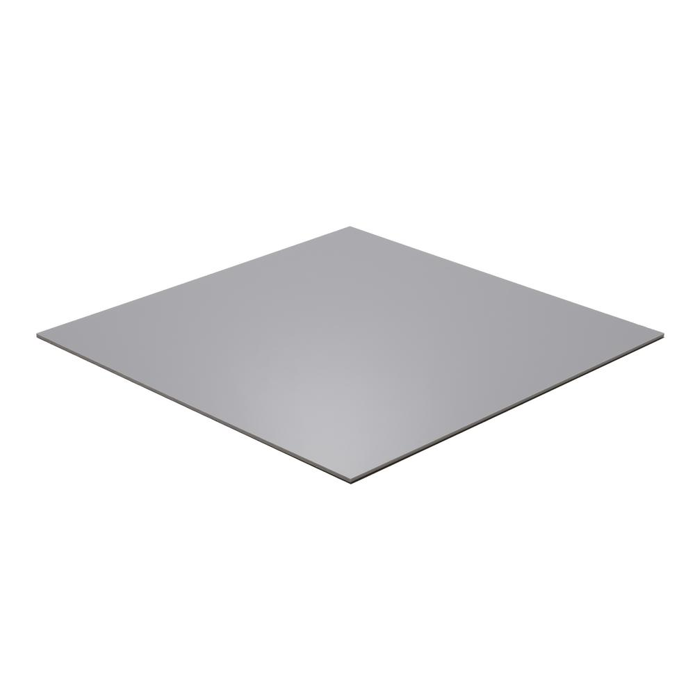 Falken Design 12 In X 12 In X 1 8 In Thick Acrylic Gray