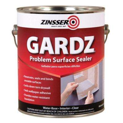 GARDZ 1 gal. Clear Water-Based Interior Problem Surface Sealer (4-Pack)