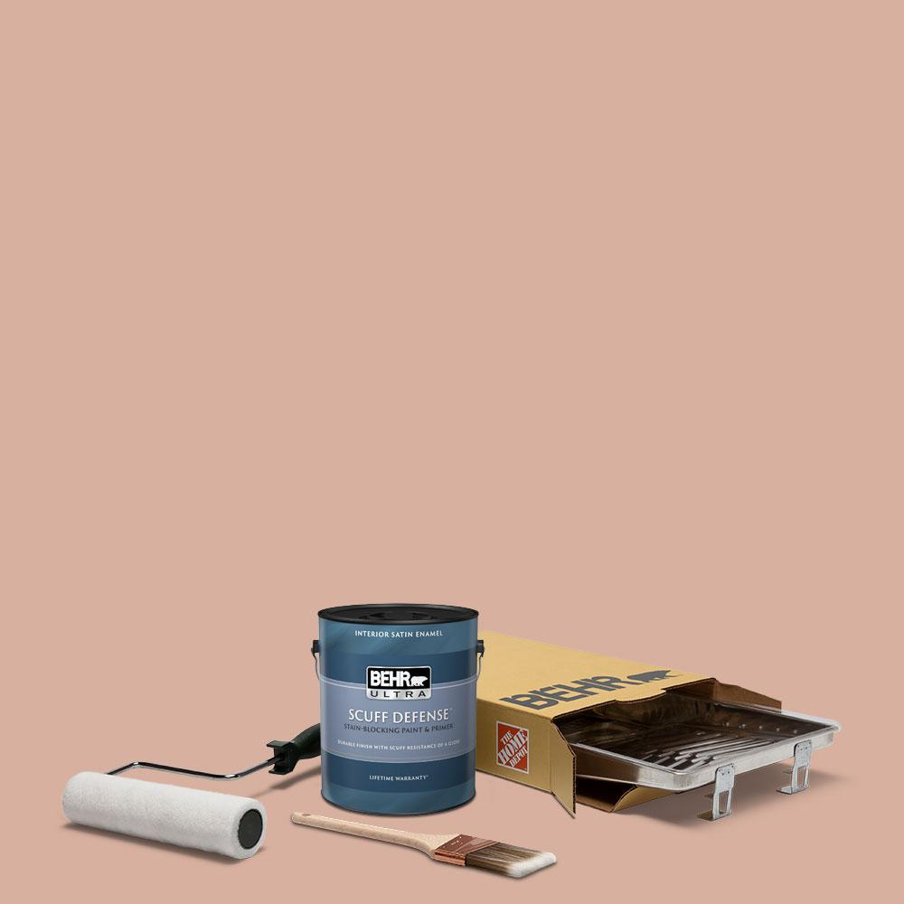 Reviews For Behr 1 Gal S180 3 Flowerpot Extra Durable Satin Enamel Interior Paint And 5 Piece Wooster Set All In One Project Kit Bx016036 The Home Depot