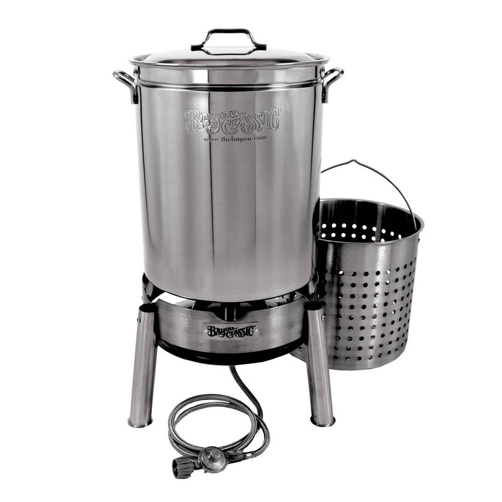 60 Qt. Stainless Boil and Steam Kit