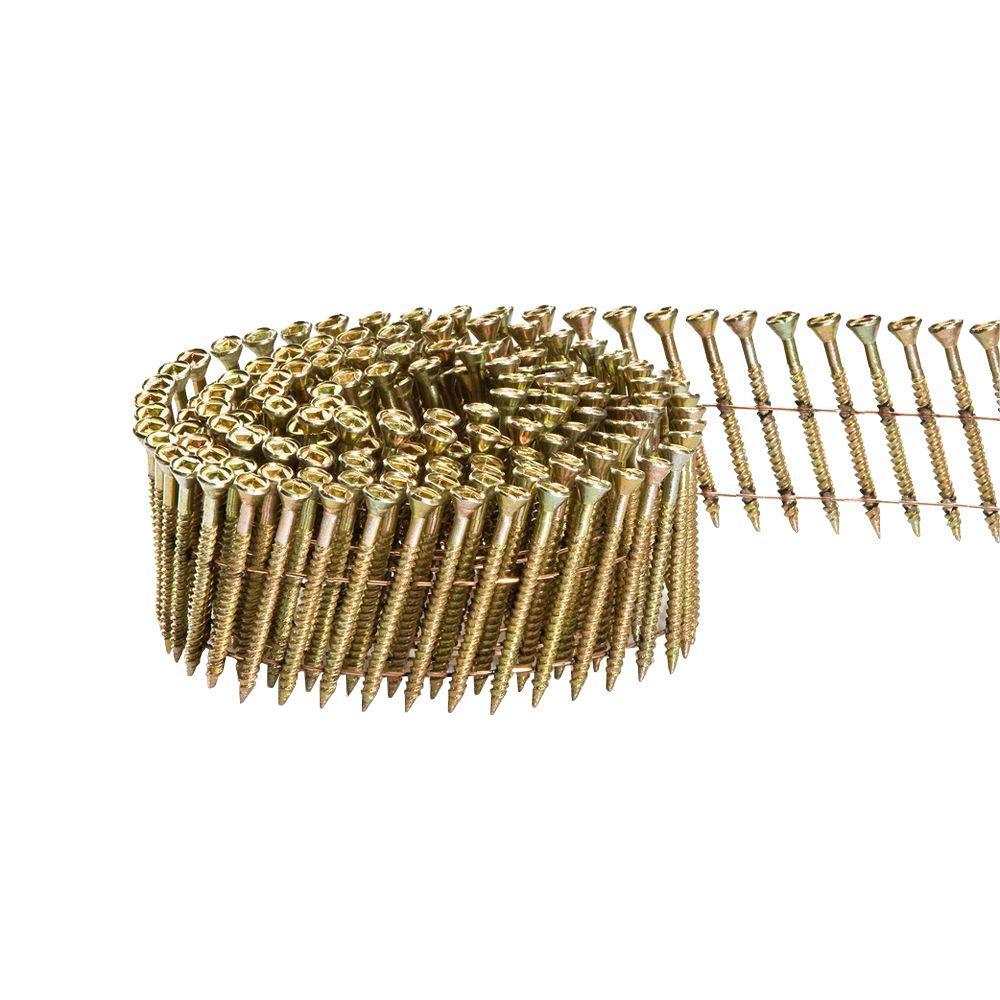 Scrail 2-1/4 in. x 1/9 in. 15-Degree Wire Coil Versa Drive Nail Screw Fastener (2,000-Pack)