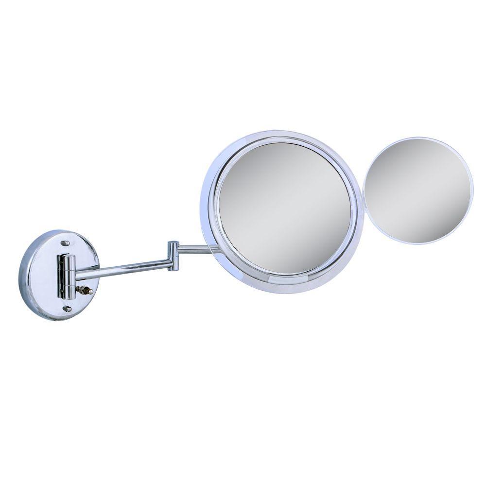 Zadro Surround Light 7X/5X Wall Mirror in Chrome-DISCONTINUED
