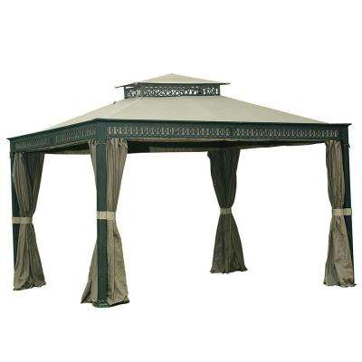 Seabrook 10 ft. x 12 ft. Aluminum Steel Gazebo