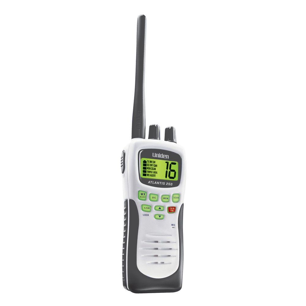 Uniden 8 Mile 88 Channel Handheld 2-Way VHF Marine Radio