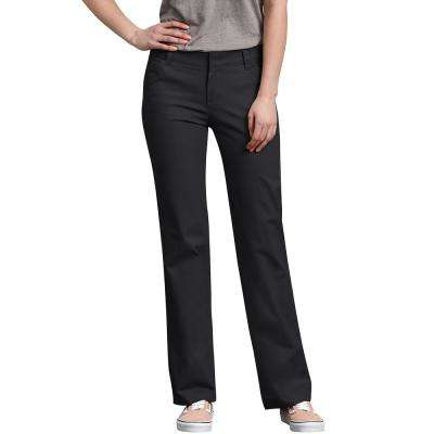 Women's Relaxed Straight Stretch Twill Pants