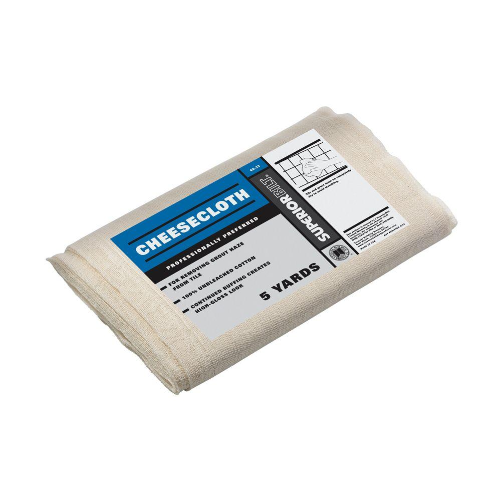 Custom Building Products SuperiorBilt 5 yds. Cheesecloth Cotton Pack