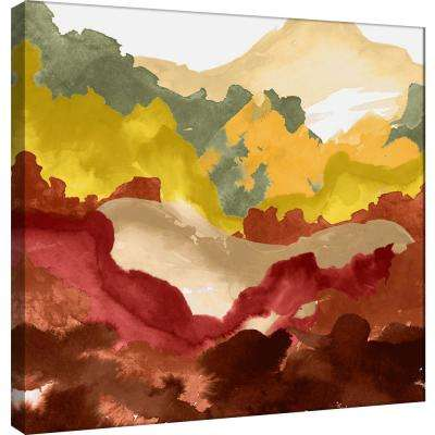 15.in x 15.in ''Layers of Summer Evening C'' Printed Canvas Wall Art