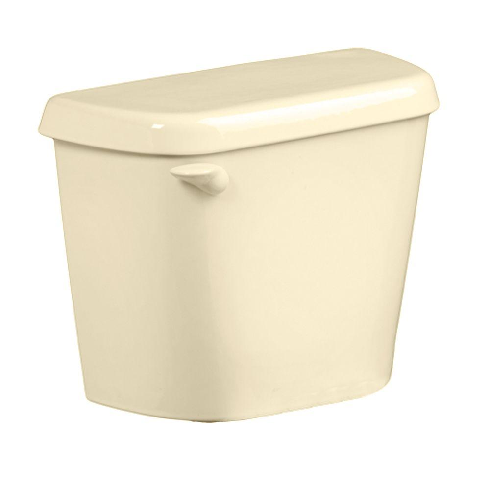 American Standard Colony 1.6 GPF Single Flush Toilet Tank Only for 12 in. Rough in Bone