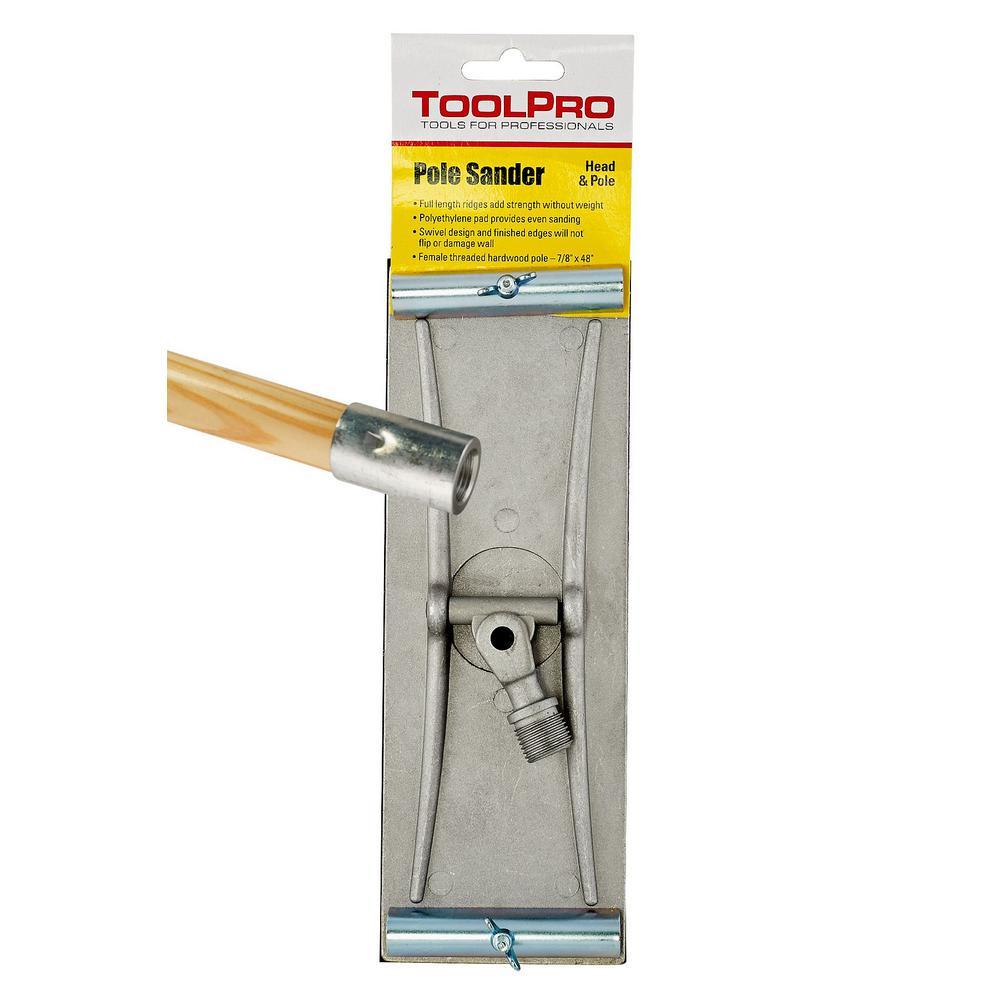 swivel head drywall pole sander