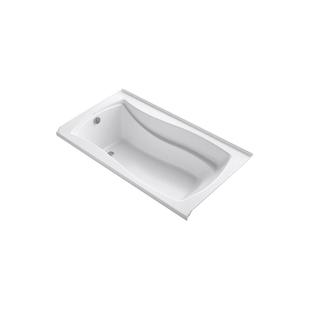 KOHLER Mariposa 5.5 ft. Left Drain Bathtub in White