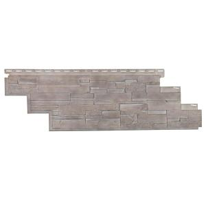 Dry Stacked Stone 41-1/2 in. x 13-1/8 in. Limestone Vinyl Siding (10-Pack)