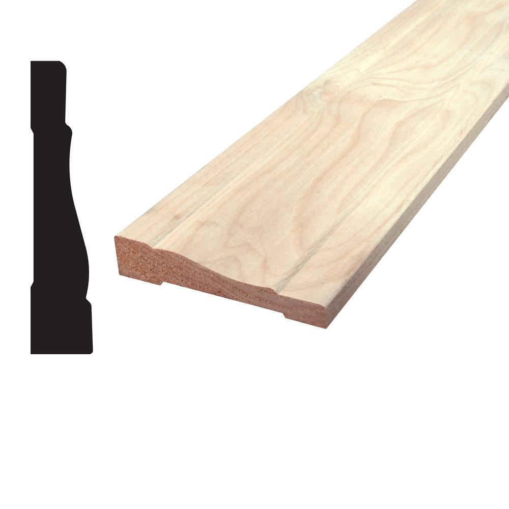 11/16 in. x 3-1/4 in. x 96 in. Knotty Alder Casing