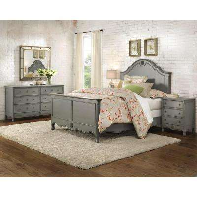 Merveilleux Keys Queen Bed In Grey