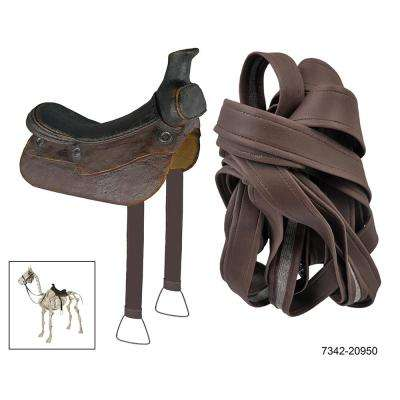 Dress up Accessory for Skeleton Horse Including Saddle, Bridle