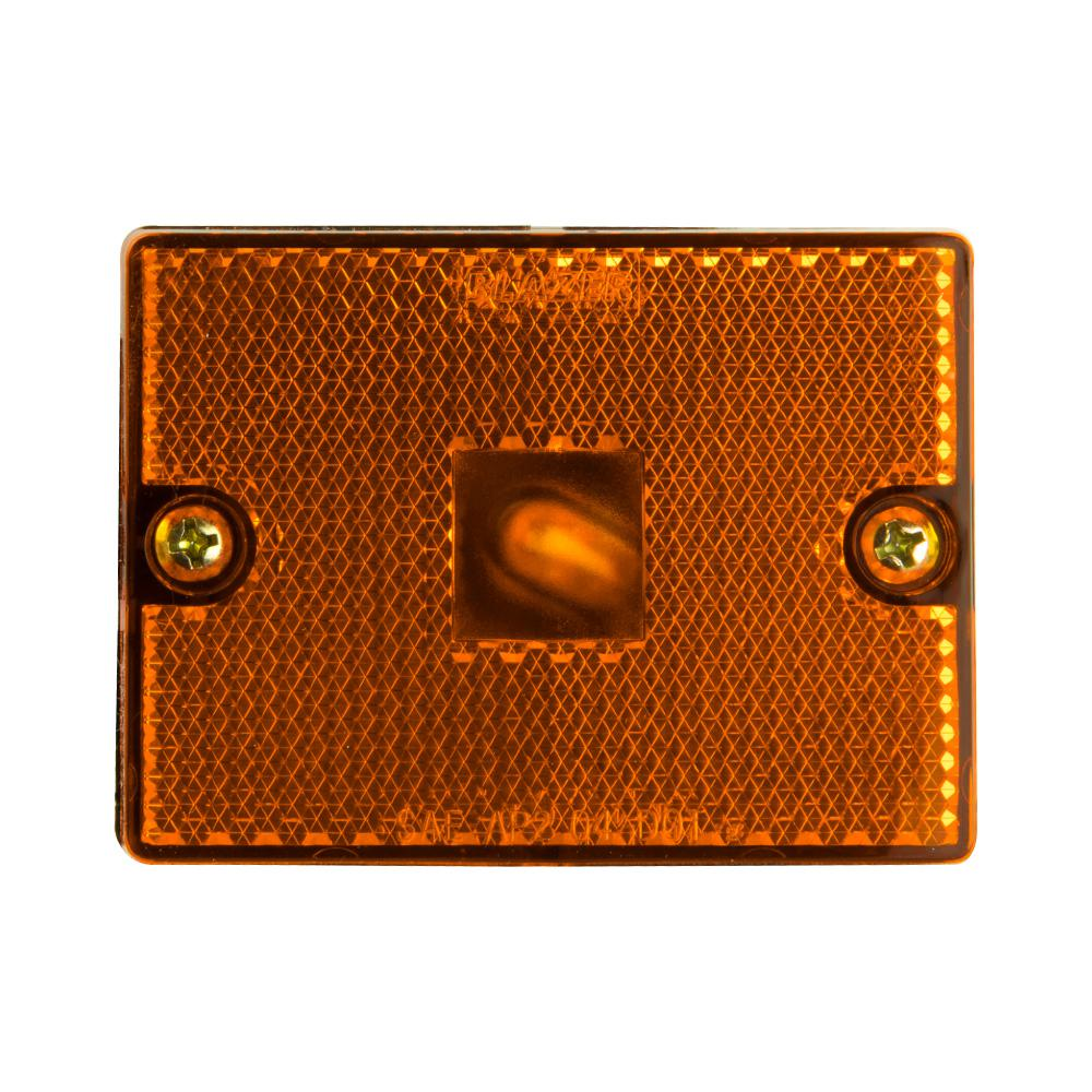 Clearance 2-3/4 in. Marker Lamp Amber with Reflex