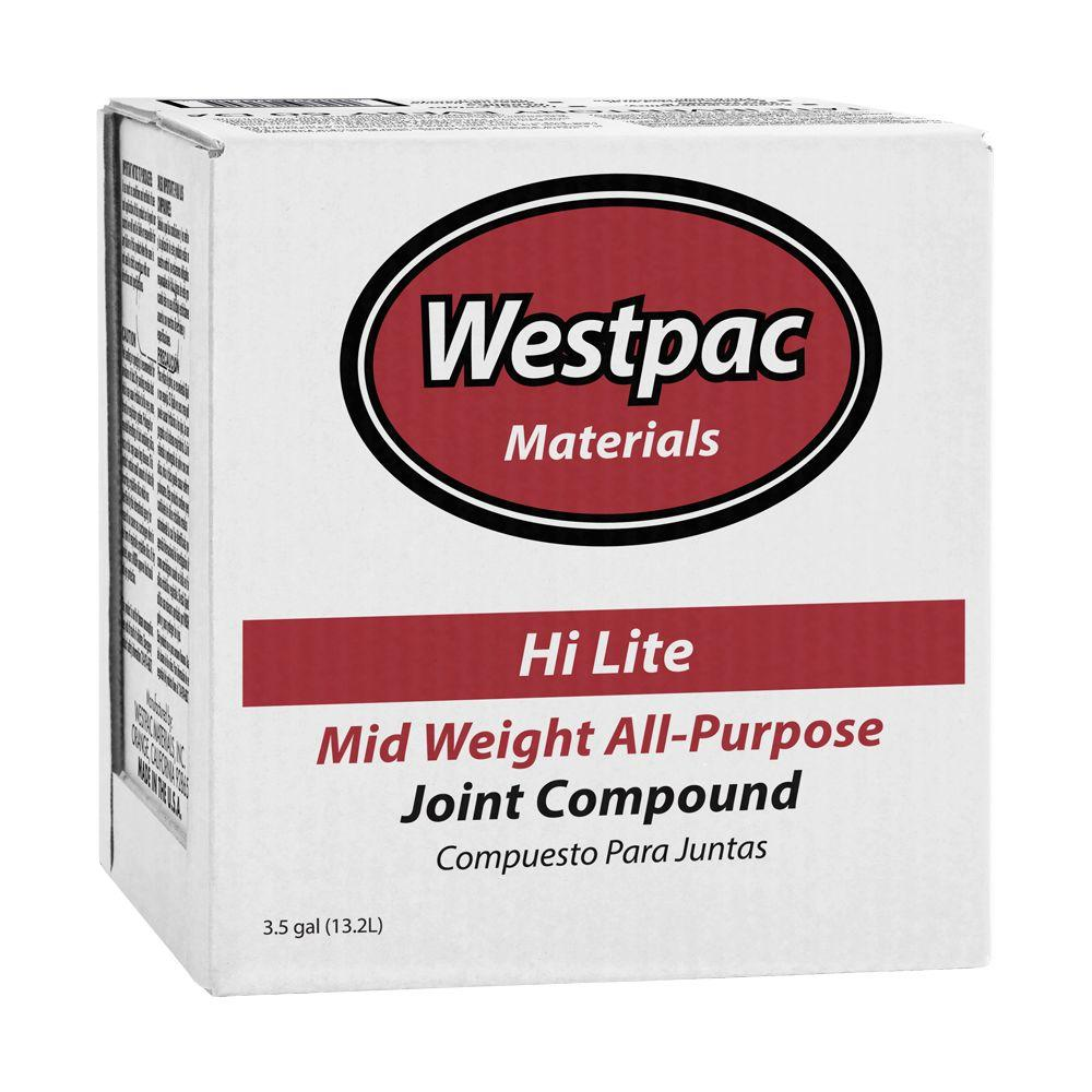 Westpac Materials 3.5-Gal. Red Dot Mid Weight All-Purpose Pre-Mixed Joint Compound