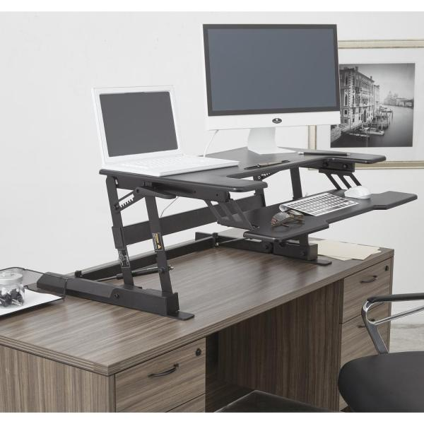 Multi Position Desk Riser By Office Star Products