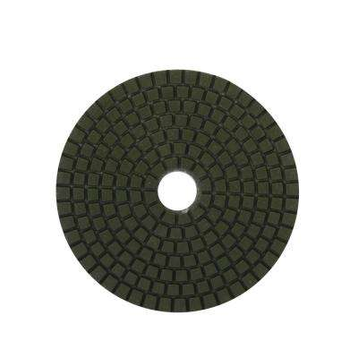 4 in. 50 Grit Resin Wet Polishing Pad