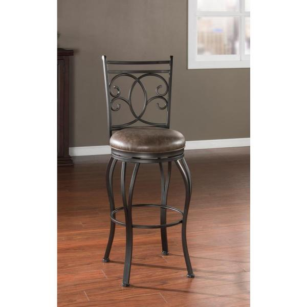 American Heritage Nadia 30 in. Coco Cushioned Bar Stool 130928COC