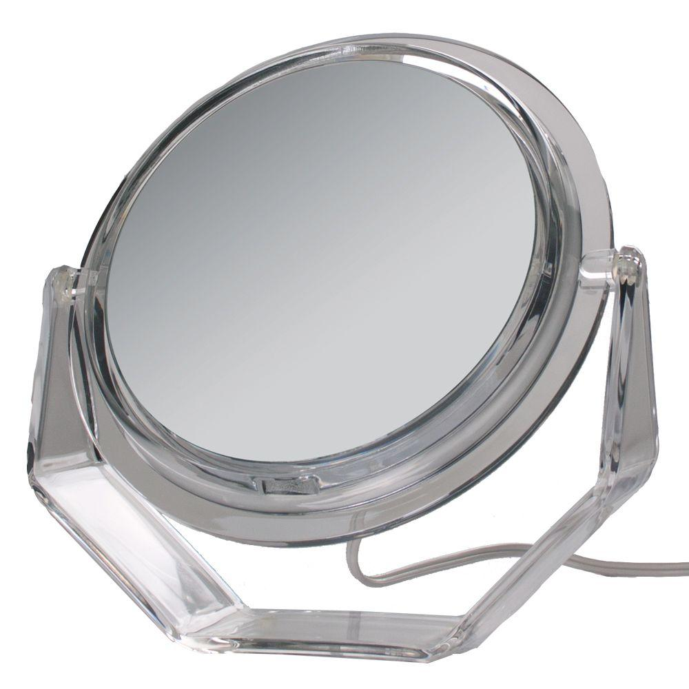 Zadro Surround Light 5X Vanity Mirror in Acrylic, Clear A...