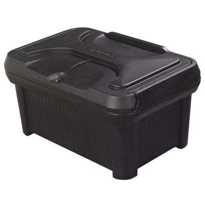 Cateraide Slide N Seal Top Load Pan Carrier for 8 in. Deep Pans in Black