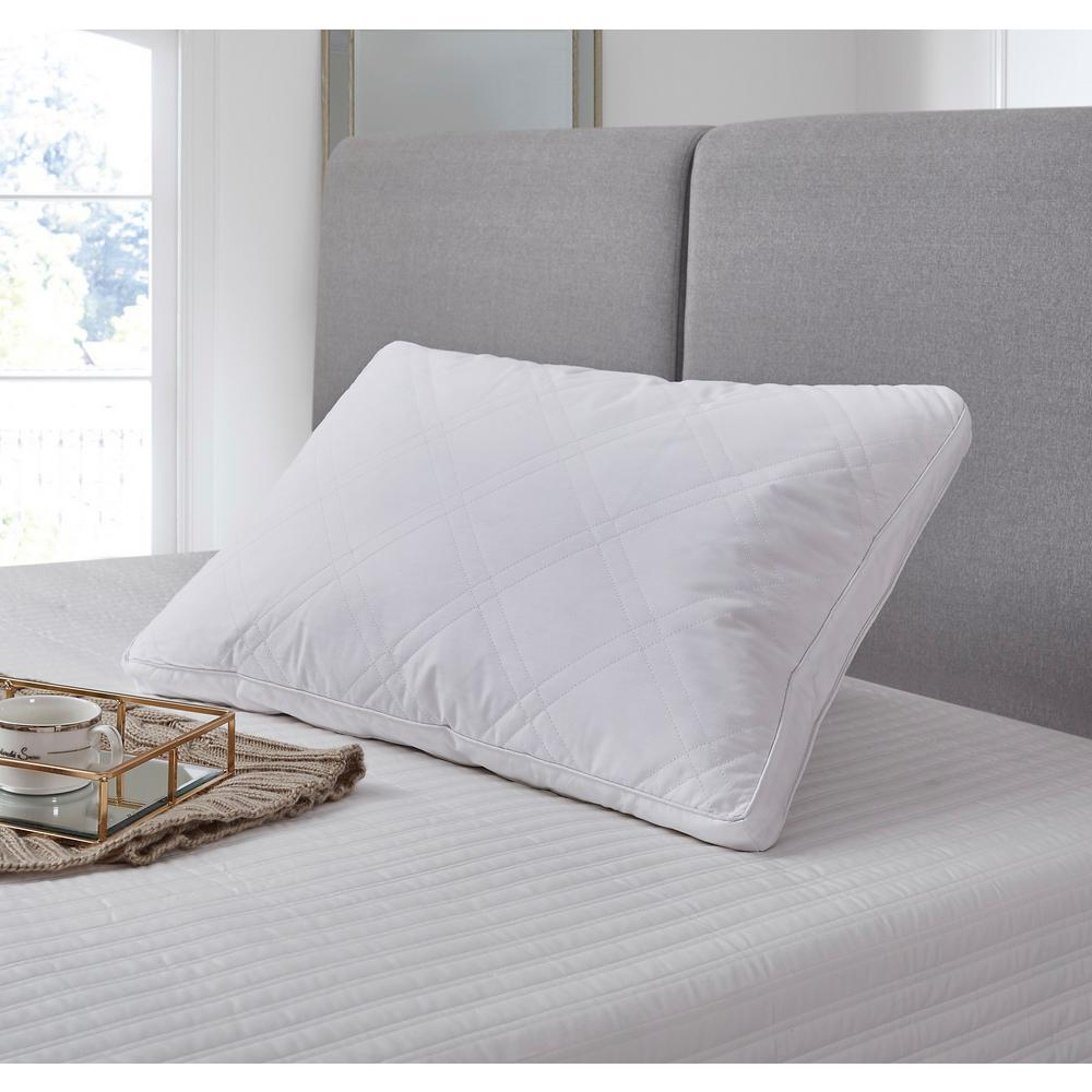 Pack of 2 pillows with duck feather