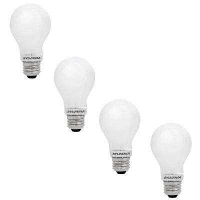 100-Watt Equivalent A21 Dimmable Energy Saving Household LED Light Bulb Daylight (4-Pack)