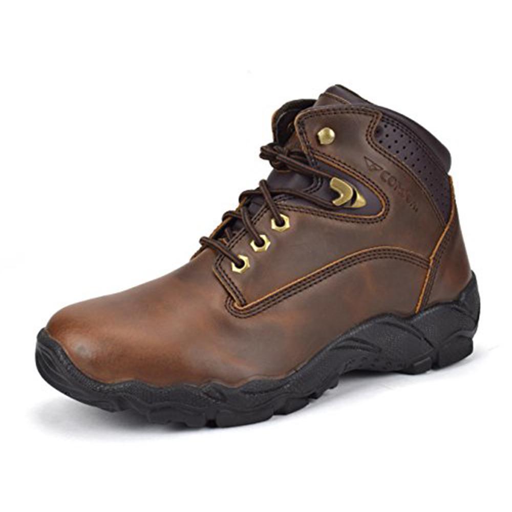 e317e5abb44 CONDOR Men's 6 in. Brown Size 10 E US Steel Toe Work Boot