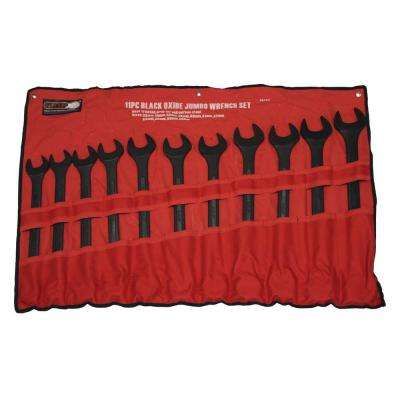 Jumbo Combination MM Wrench Set (11-Piece)