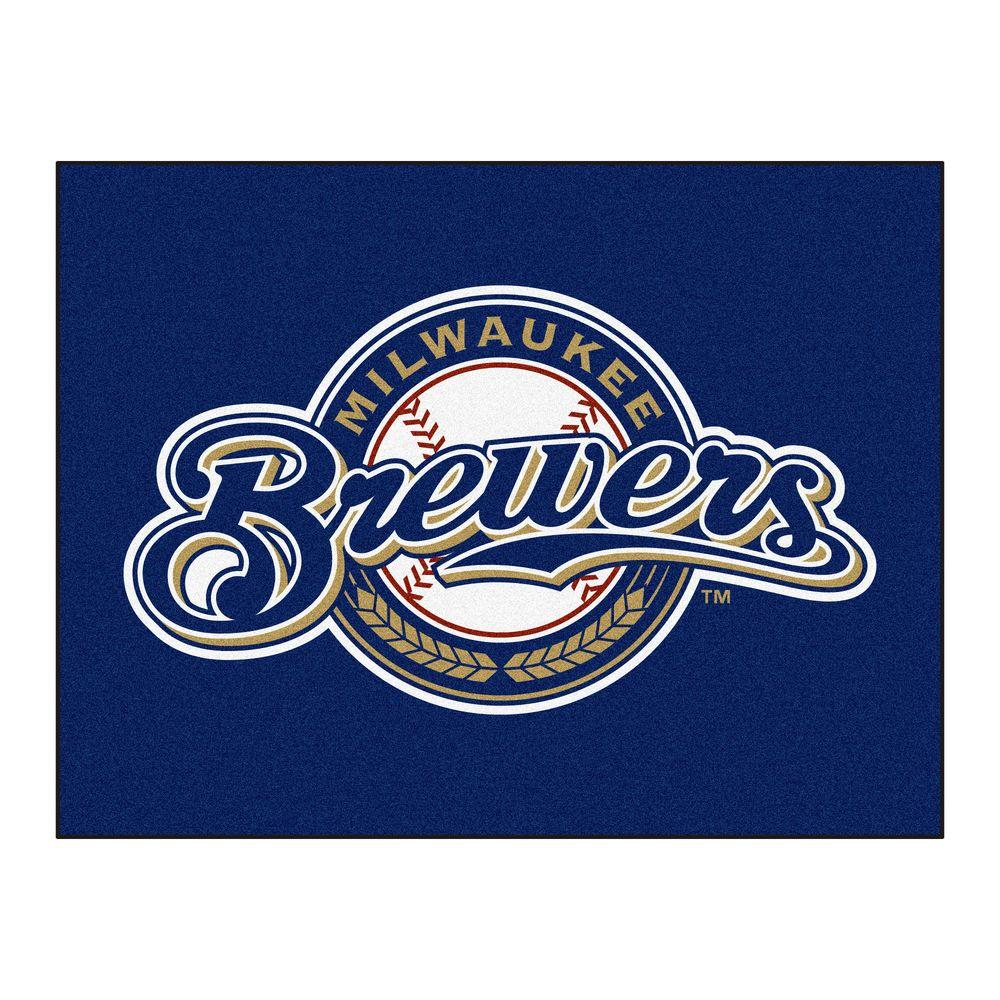 Milwaukee Brewers 3 ft. x 4 ft. All-Star Rug