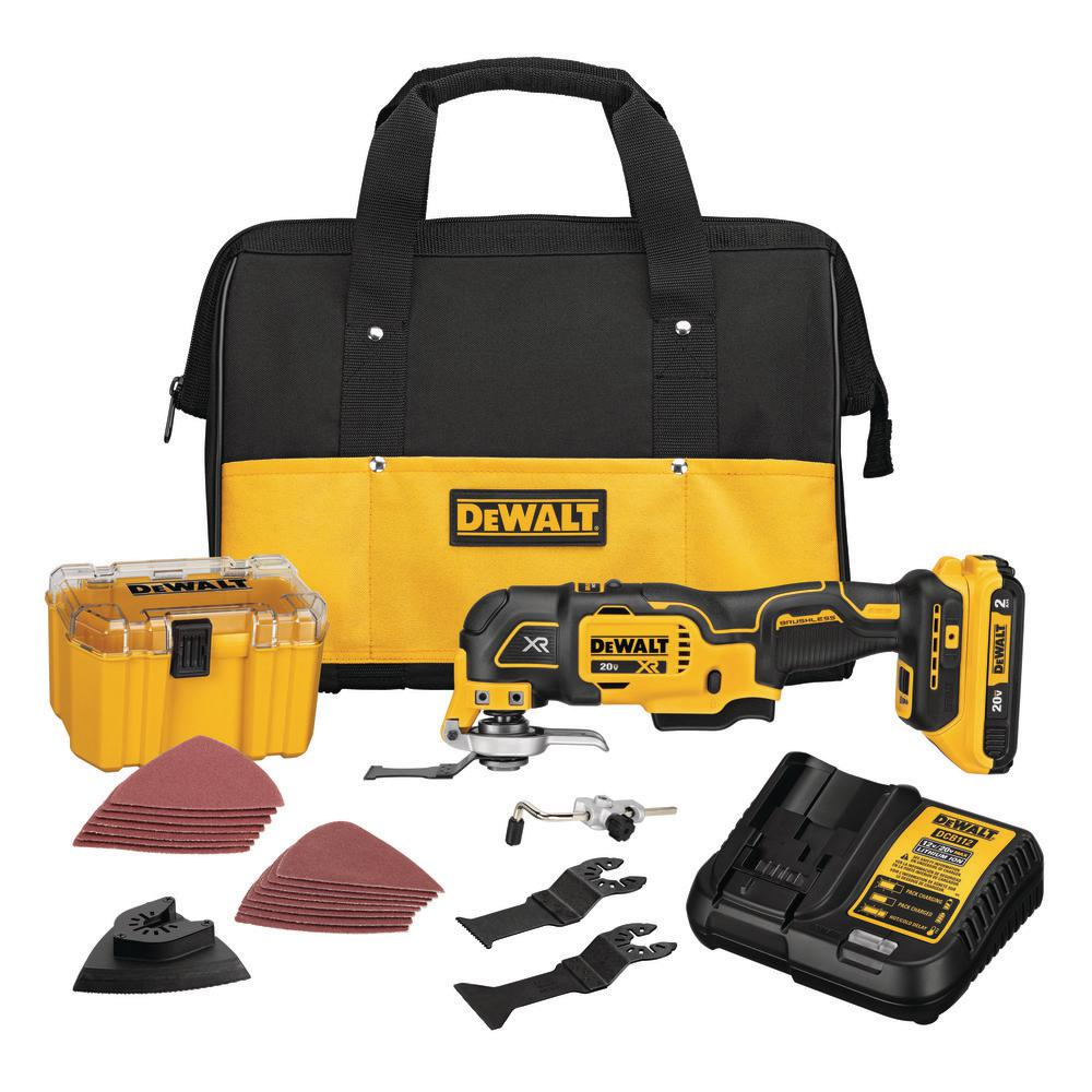DEWALT 20-Volt MAX Lithium-Ion Cordless Brushless Oscillating (Tool Kit)