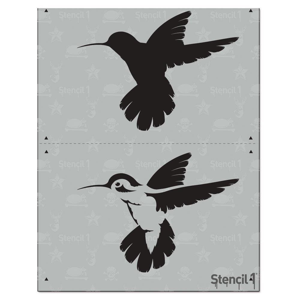 Animals Stencils Craft Art Supplies The Home Depot