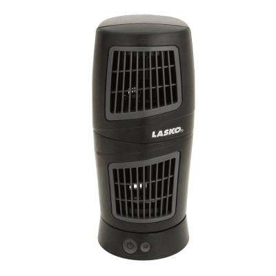 12 in. Twist-Top Tower Fan