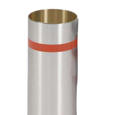 8 in. x 50 ft. Mill Finish Aluminum Roll Valley Flashing