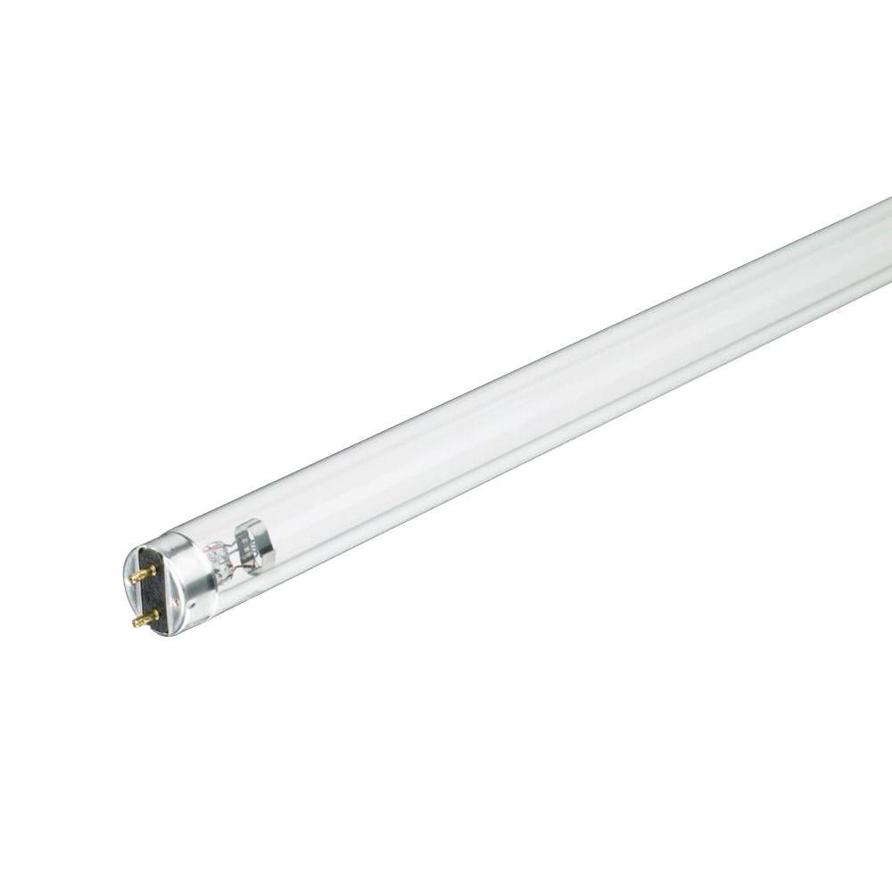 18 in. T8 25-Watt TUV Linear Fluorescent Germicidal Light Bulb (25-Pack)