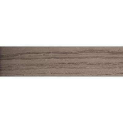 Metro Taupe 3 in. x 6 in. Marble Floor and Wall Tile