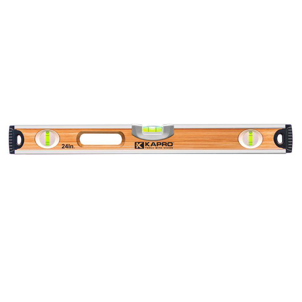 Kapro 48 In Bamboo Level 121 41 48 The Home Depot