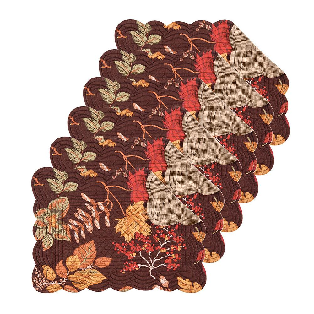 Amison Brown Placemat (Set of 6)