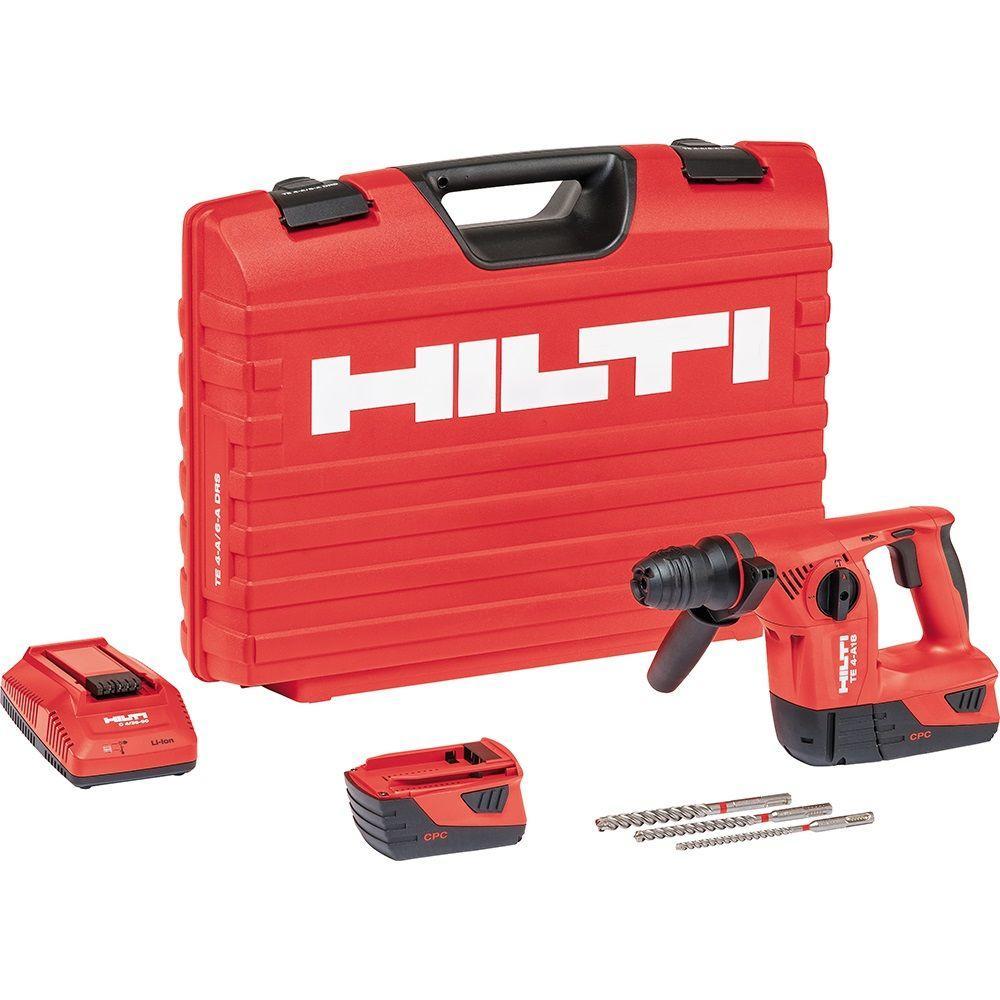 Hilti TE 4 18-Volt Lithium-Ion SDS-Plus Cordless Rotary Hammer Drill