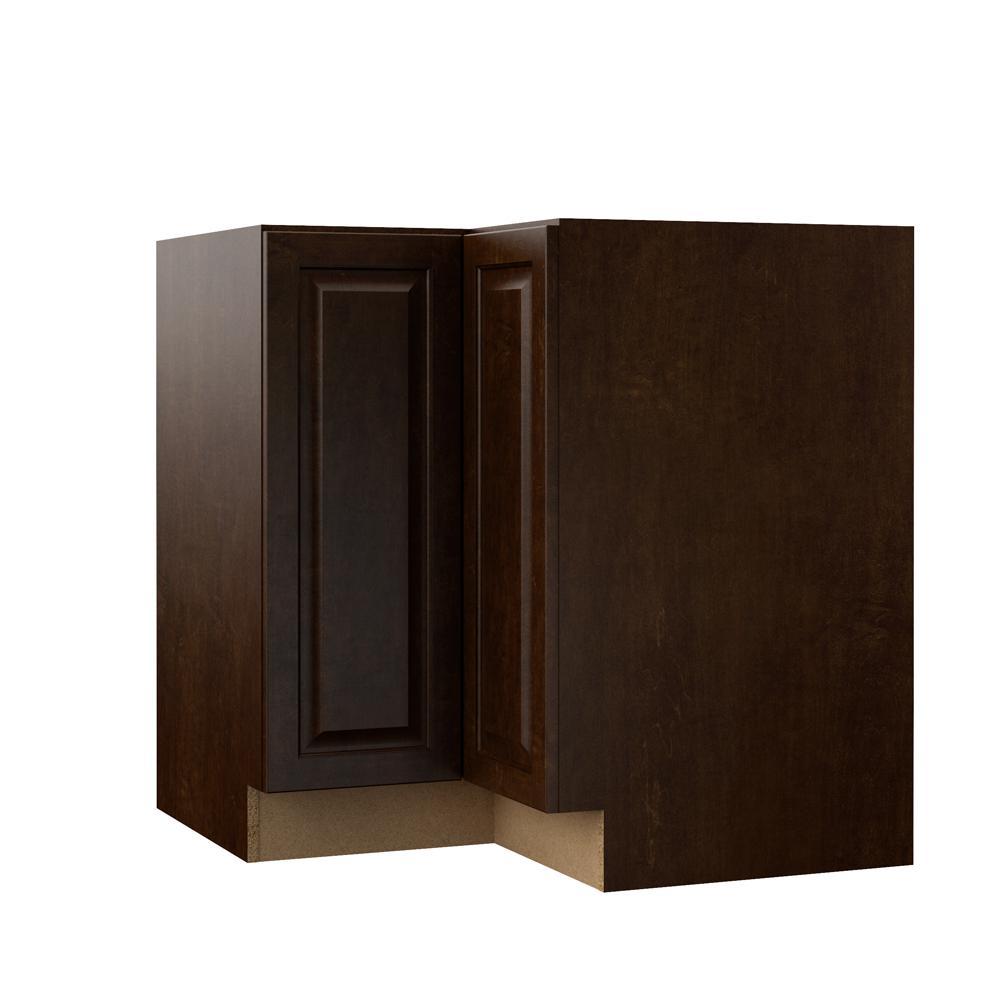 Kitchen Cabinets Espresso: Hampton Bay Designer Series Gretna Assembled 33x34.5x20.25