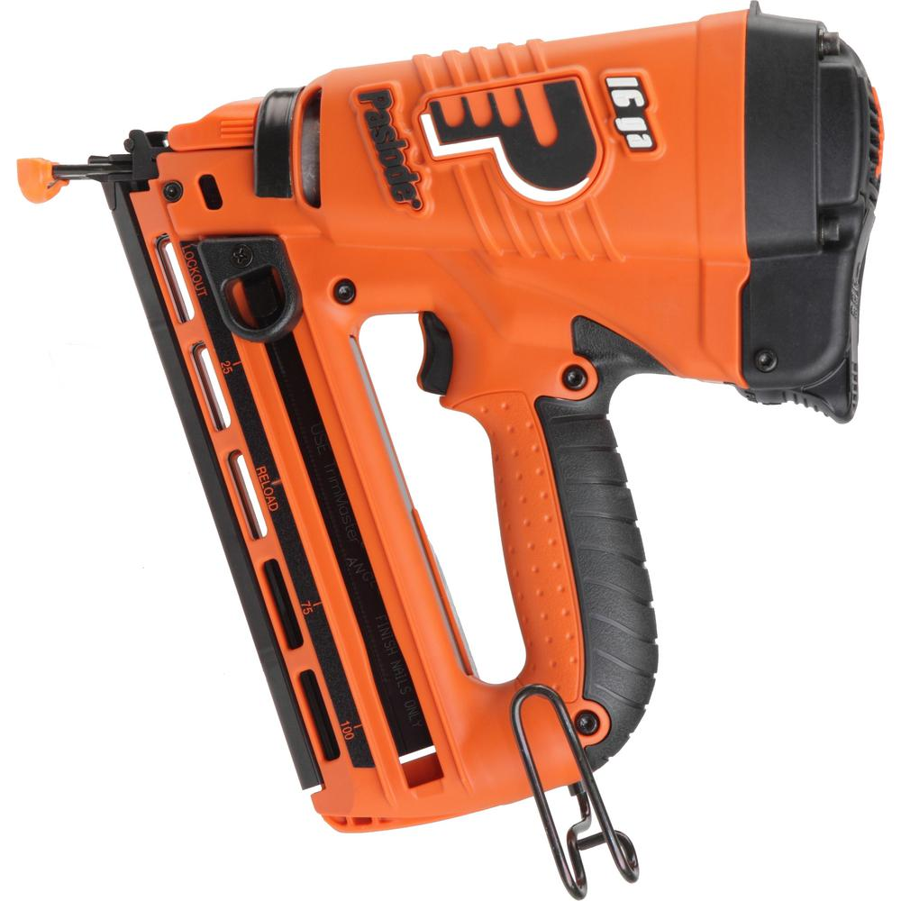 Paslode 16-Gauge Cordless Lithium-Ion Angled Finish Nailer