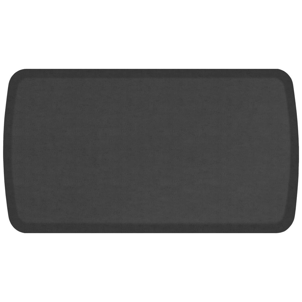 GelPro Elite Vintage Leather Slate 20 In. X 36 In. Comfort Kitchen Mat
