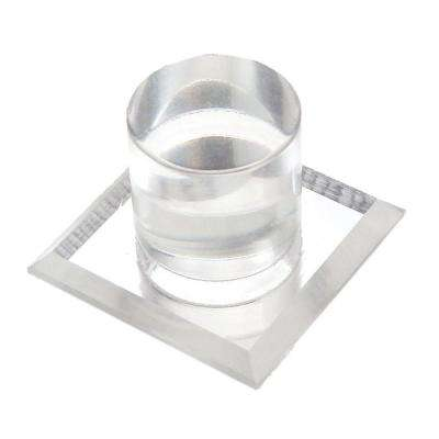 3/4 in. Acrylic Mirror Pull Knob (2-Pack)
