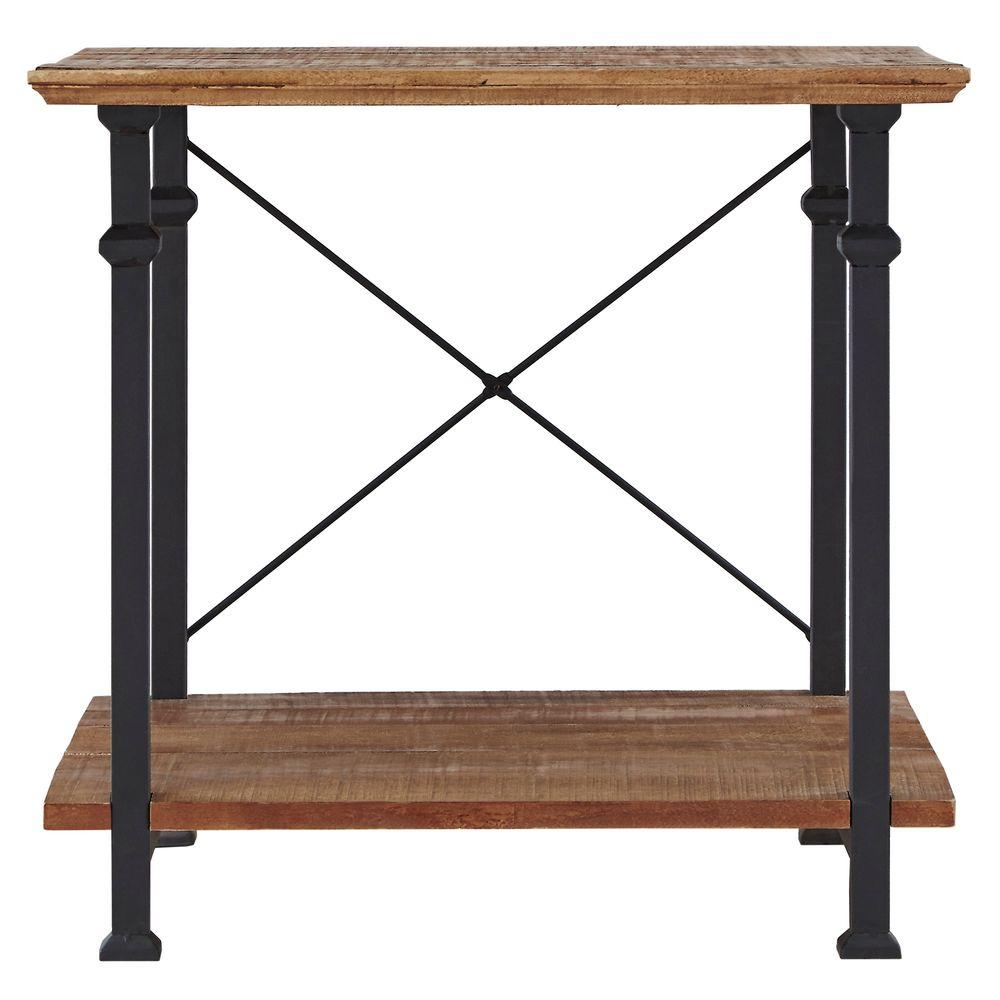 Homesullivan grove place distressed console table 403228 for Sofa table placement