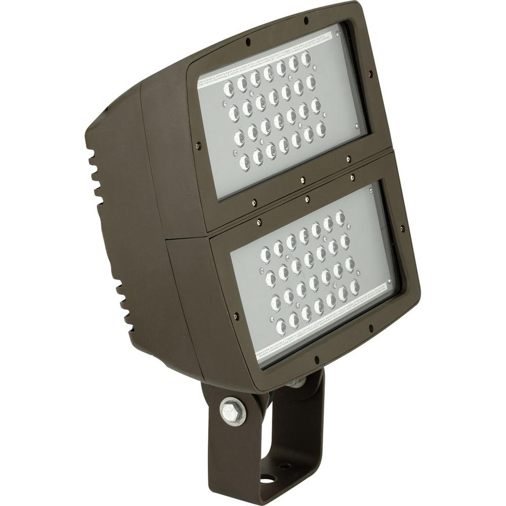 progress lighting 200 watt bronze integrated led outdoor flood light pcofl 200led 20 the home. Black Bedroom Furniture Sets. Home Design Ideas