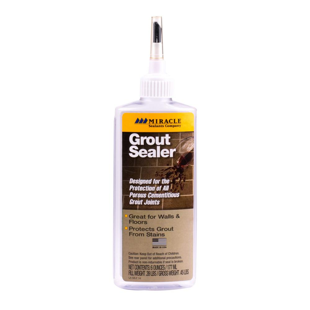 Miracle Sealants 6 oz. Grout Sealer with Bottle