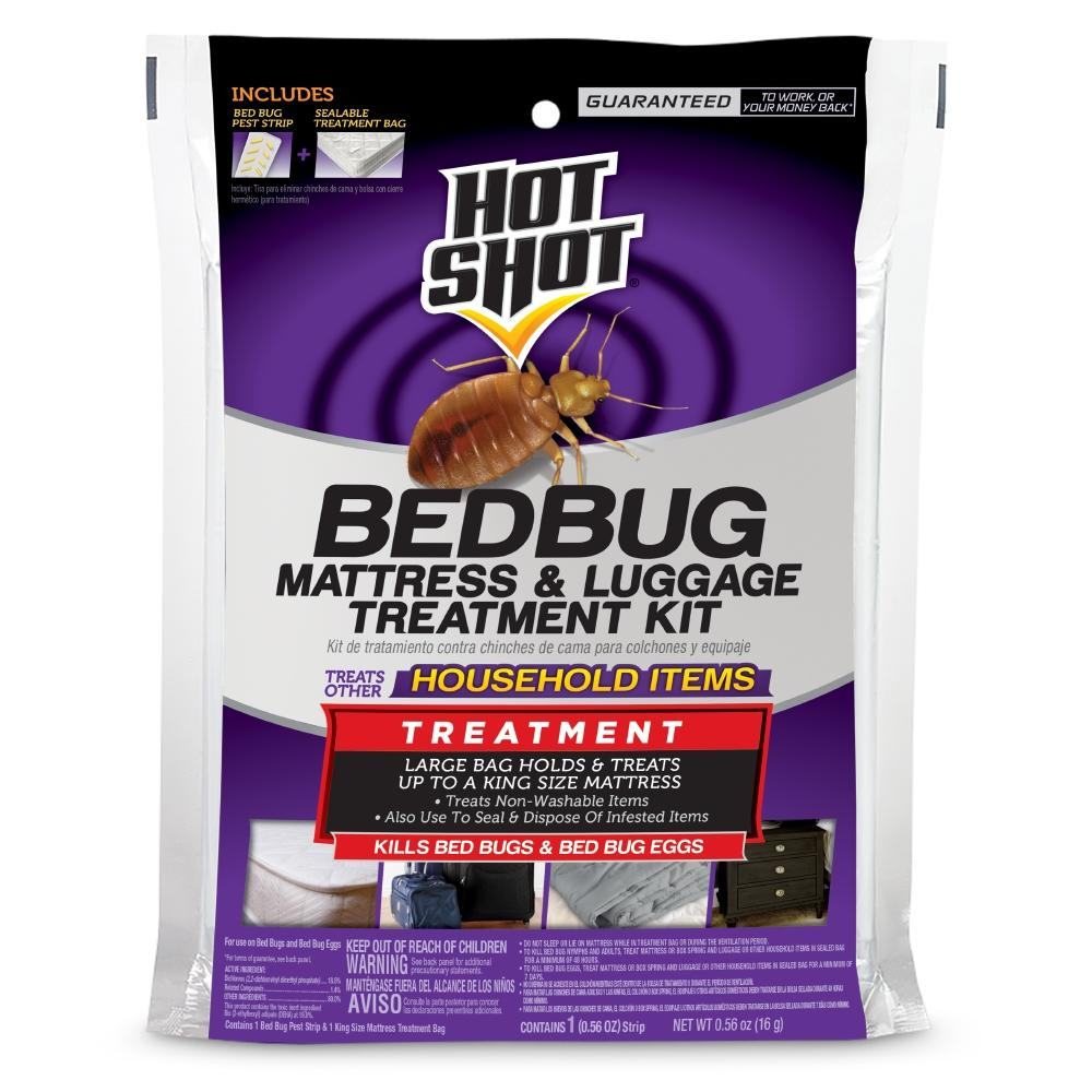 Hot Shot Bed Bug Mattress and Luggage Treatment Kit