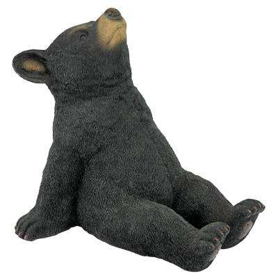 11.5 in. H Catching Rays Bear Cub Statue