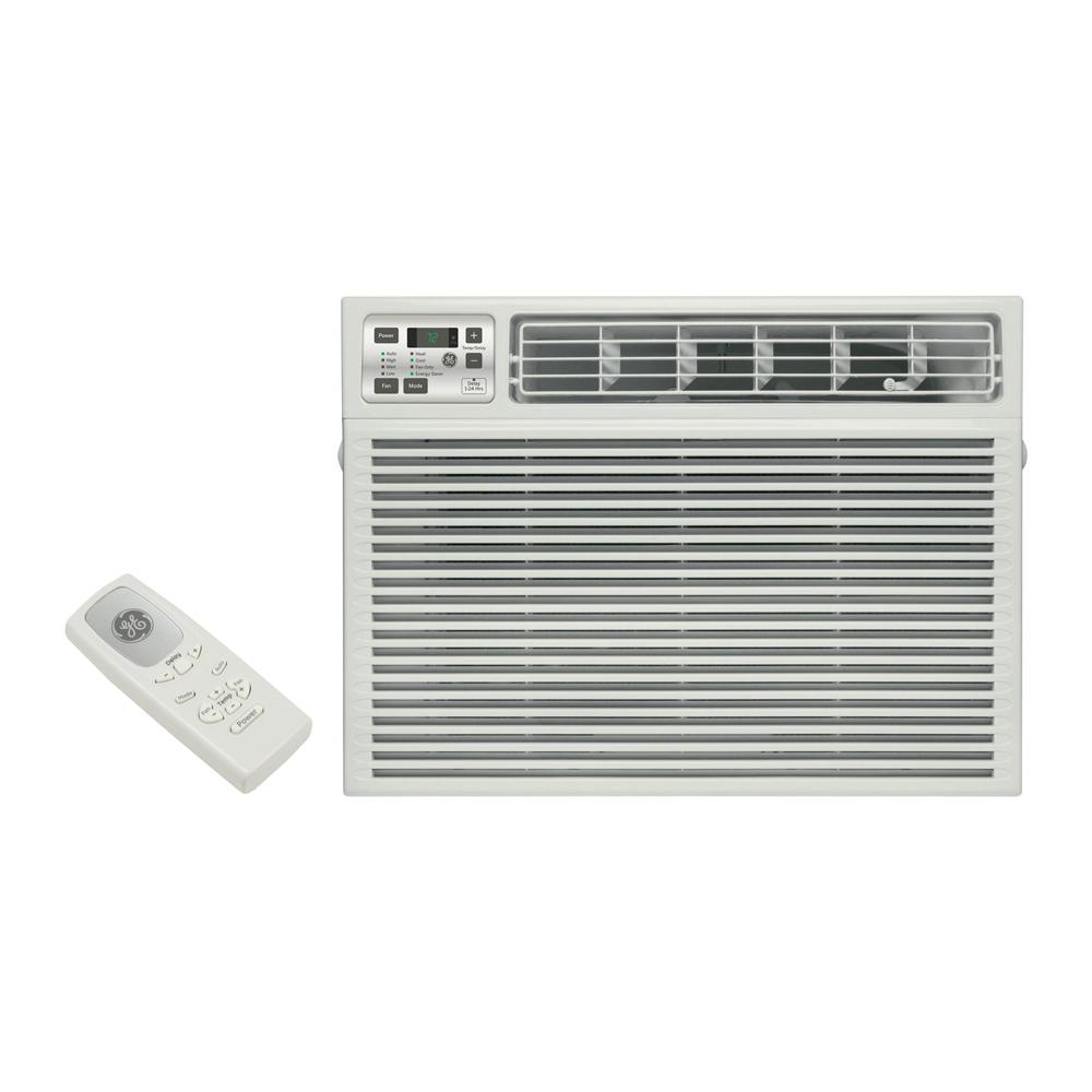 Ge 17600 Btu 230 Volt Electronic Heat Cool Room Window Air 220 Dryer Outlet Wiring In Addition Conditioner Thermostat